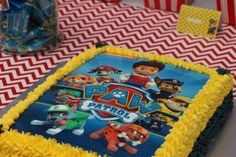 Paw Patrol Party Ideas Walnut Pesto Paw Patrol Cake