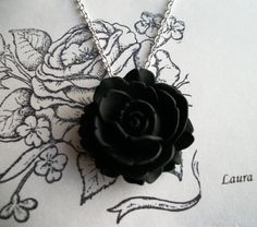 Romantic Rose Charm Necklace