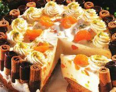 Mandarinen Eierlikör Torte - Rezept