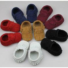 Suede soft sole moccasins