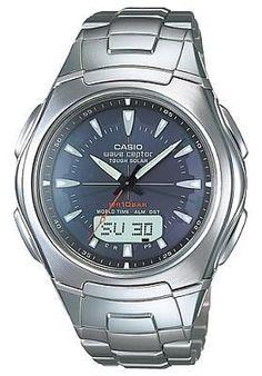 Casio Men's Solar Atomic Watch WVA430DJ-1A