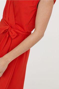 Omlottklänning - Roströd - DAM | H&M SE 2