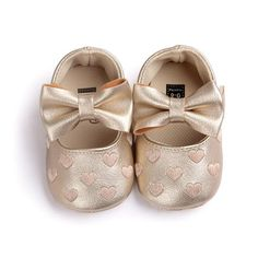 b8fcacd13a348 Big Bow Embroidery ShoesNon-slip baby Baby Girl Princess