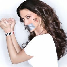 NOH8 Campaign -  Shannon Elizabeth - See more: http://www.listal.com/list/noh8-dreamistrue