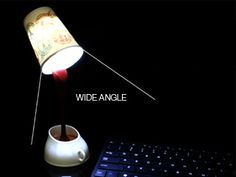 Paper Cup Nightlight
