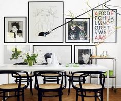 Perfectly arranged frames.