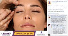 Postagem no Facebook do Instituto Embelleze da cidade de Vitória da Conquista na Bahia.