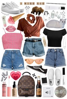 created by maddiexexo on ShopLook.io perfect for Weekend. Visit us to shop this look. 18 created by maddiexexo on ShopLook.io perfect for Weekend. Visit us to shop this look. Summer Outfits For Teens, Teenage Outfits, Cute Outfits For School, Teen Fashion Outfits, Shop This Look Outfits, Teenage Clothing, Cute Party Outfits, Cute Casual Outfits, White Girl Outfits