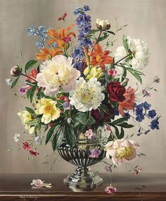 Classic. Beauty floral bouquet | Albert Williams. Discussion on LiveInternet - Russian Service Online diary