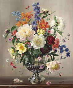 Мобильный LiveInternet Классика. Красота цветочного букета | Albert Williams  | Akmaya - Записки Akmaya |