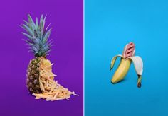 Junk Food in Fruits – Fubiz™