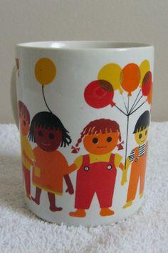 Holt Howard 1969 Mug Children Of The World