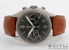 CWC (Cabot Watch Company) Luftwaffenchronograph der Royal Air Force (GB), wohl 1970er Jahre.