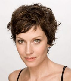 Pixie Haircuts For Curly Hair 2014 ~ http://wowhairstyle.com/reviews-of-women-hairstyles-2014/