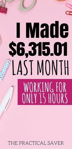 make money blogging l side hustle ideas l how to blog l work from home l work from home ideas l blogging for beginners l make extra money