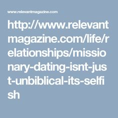 Missionary dating quotes