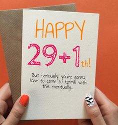 49 Best ideas funny happy birthday for him friends quotes for him Birthday Cards For Friends, Best Friend Birthday, Funny Birthday Cards, Handmade Birthday Cards, Humor Birthday, Sister Birthday, Happy Birthday Quotes For Him, Birthday Gift For Him, Funny 30th Birthday Quotes