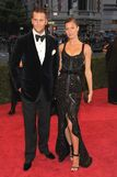 TOm Brady and Gisele Bunchen in Givenchy