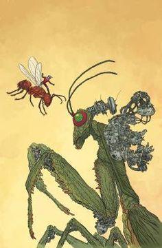 "comicblah:  ""Ant-Man #2 variant by Geof Darrow  """