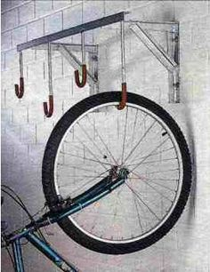 Soportes de pared para colgar bicicletas a modo de trofeo - Ganchos para colgar ...