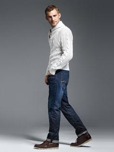 German brand MAC shows us lots of muted colored jeans which also come in twill and cords, a good match for the kind of guy that likes a laid-back and casual yet refined style. Their jeans are all sustainable,...