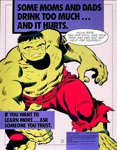 Marvel NACoA Hulk Poster