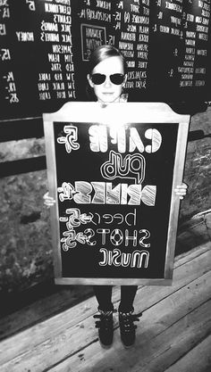 #bruderschaft #typography #wall #menu #love #gdansk #poland #coctailbar #pub #