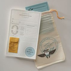 tooth fairy kit by notion farm