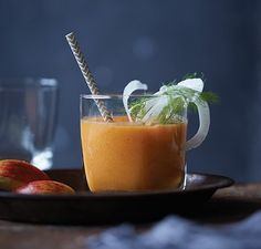 Apple, Carrot, Ginger and Fennel Juice | Vitamix