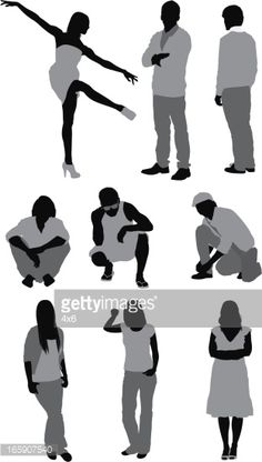 People Png, Cut Out People, People Crowd, City People, Painting People, Figure Painting, Figure Drawing, People Illustration, Character Illustration