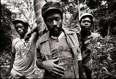 mazungu: Burning Spear: Rupert Willington, Winston Rodney, and Delroy Hines.