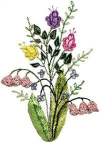 Brazilian Embroidery Free Patterns | free hanging lily jdr 360 free hanging lily advanced brazilian