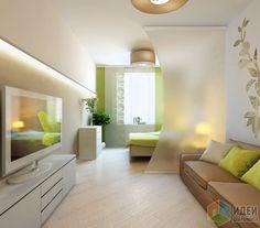 """Фотографии [82655]: ЖК """"Современник"""", 1-комнатная квартира от дизайнера Екатерина Ненашева"""