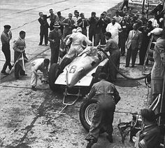 """""""Tazio Nuvolari in a driver change for his Auto Union Type D at the 1937 German Grand Prix, held at the Nürburgring """" Over Images of Luxury, Fashion and the Good life. Auto Union, Automobile, Racing Events, Mercedes Car, Audi Sport, Car And Driver, Vintage Racing, Grand Prix, Race Cars"""