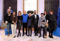 BE BLUE BE BALESTRA EDITION 2013 homage to Renato Balestra. Renato Balestra with Designers