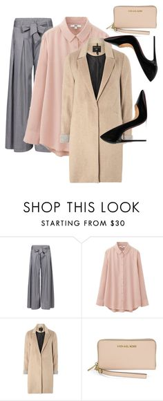 """""""Total Fall Looks 🍂🍁❤🌻"""" by triceyfashion on Polyvore featuring Uniqlo, mel, Michael Kors and Christian Louboutin"""