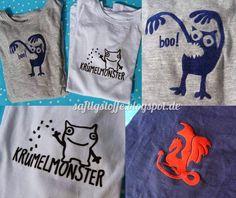 Boo-Monster, Krümelmonster und Drache: von Viilou-Textilmotive aus Berlin!