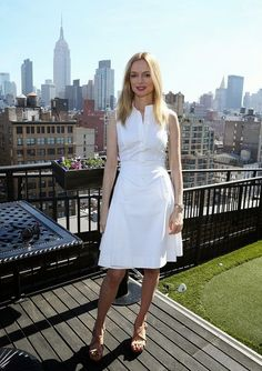Street Styles Fashion Heather Graham Shirtdress