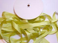 Kiwi Green Seam Binding x 100 Yards, Rayon Seam Binding, Unbranded, Green Ribbon #Unbranded