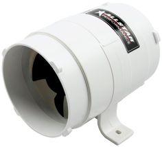 """Allstar ALL13009 4"""" Diameter 8"""" Length 240 CFM Rating Heavy Duty Model In-line Duct Blower - http://www.performancecarautoparts.com/allstar-all13009-4-diameter-8-length-240-cfm-rating-heavy-duty-model-in-line-duct-blower/"""