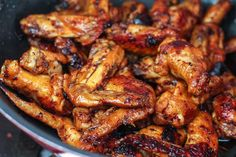 Delicious StovetopHoney Chicken Wings