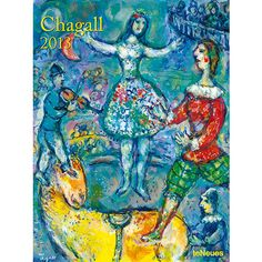 Chagall Super Poster Calendar: Russia, France and his Jewish ancestry all play key roles in the work of Marc Chagall.  Noted as one of the most successful artists in the 20th century, twelve of Chagall's finest pieces are featured in this super poster calendar for 2013.  http://www.calendars.com/Chagall/Chagall-2013-Super-Poster-Calendar/prod201300002619/?categoryId=cat00022=cat00022