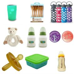 Bye-Bye, Plastic! Plastic-free products for babies and children
