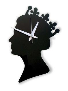 Queen wall clock , £45.00 also in red