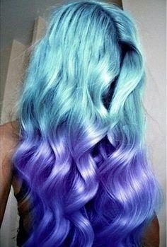 Aqua and Purple shades