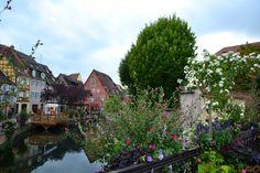 Colmar, Franta - o mica Venetie inundata. De flori.