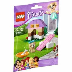 Amazon.com: Lego Friends Animals Puppys Playhouse 41025 Series 3: Toys & Games
