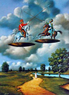 Permanent Link to The Surrealist Art Of Rafal Olbinski