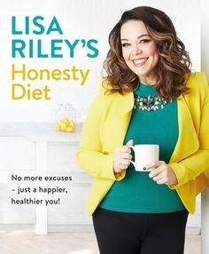 Lisa Riley's Honesty Diet by Lisa Riley #cookery #fitness #diet