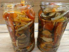 Pickles, Cucumber, Salsa, Mason Jars, Stuffed Peppers, Canning, Vegetables, Recipes, Food